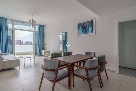 فلیٹ 2 غرفة نوم للايجار في نخلة جميرا، دبي - Furnished 2-Bed|Panoramic Views of City & Sea