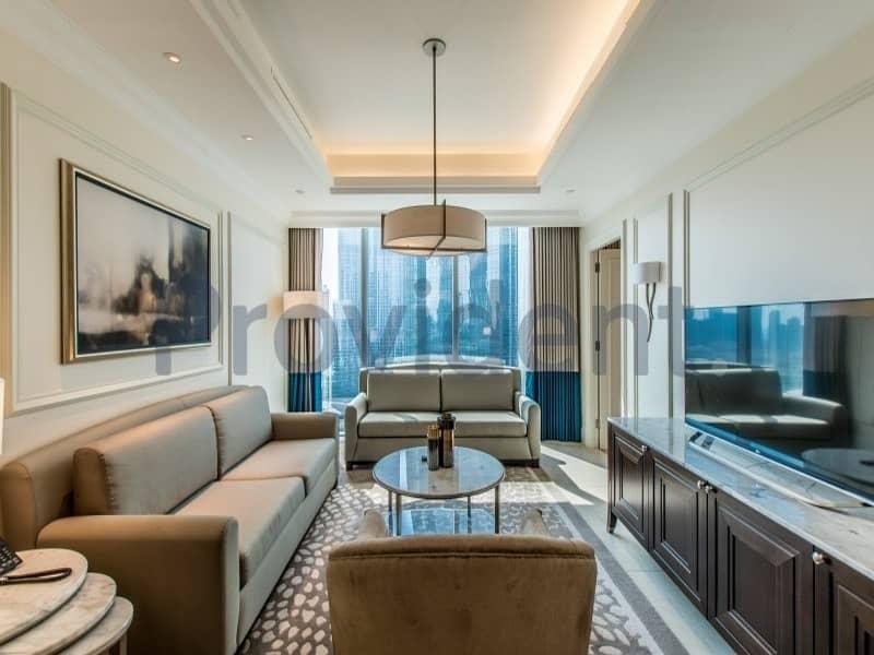 Awe-inspiring 5 Star Hotel with Burj Khalifa View
