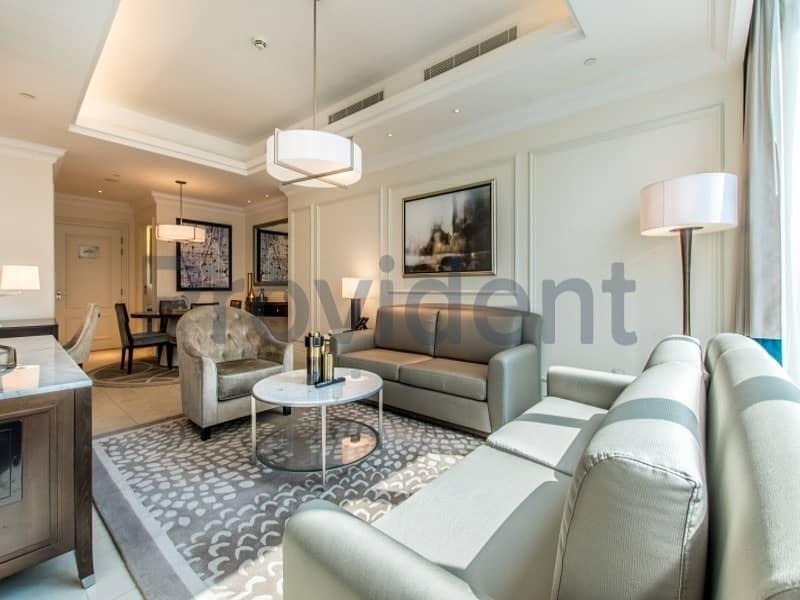 2 Awe-inspiring 5 Star Hotel with Burj Khalifa View