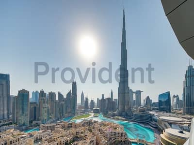 2 Bedroom Flat for Sale in Downtown Dubai, Dubai - Stunning 2 Bedroom with Burj Khalifa view