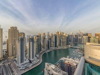 3 Bedroom Apartment for Sale in Dubai Marina, Dubai - Exclusive | Full Marina Views 3 BR | VOT