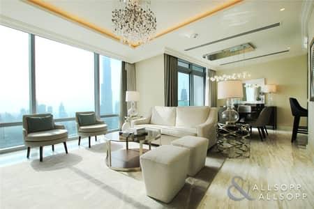 4 Bedroom Apartment for Sale in Downtown Dubai, Dubai - Luxury 4 Bed Duplex | Full Fountain View
