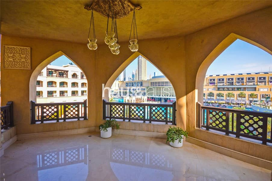 3 Bed + Maid Room|Burj Khalifa View|Large Terrace