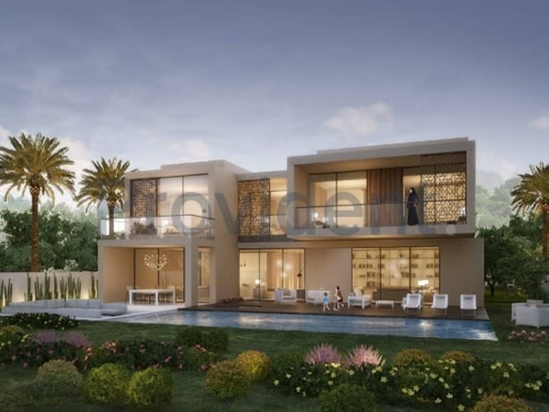 2 Best Price 6 BR Mansion Dubai Hills Estate