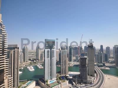 شقة 2 غرفة نوم للبيع في دبي مارينا، دبي - Beautiful 2 BR with Marina and Sea Views