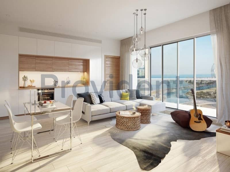 Unique| Top Floor 2Bed| Full Marina View