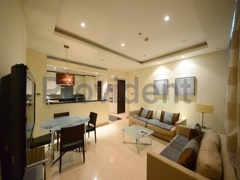 Good Deal  Fully Furnished 1BR  Tenanted