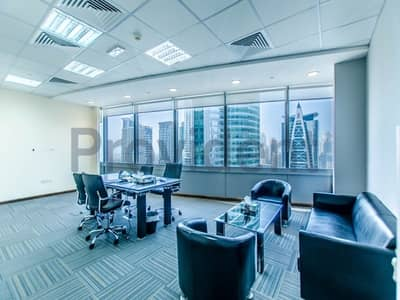 Office for Sale in Jumeirah Lake Towers (JLT), Dubai - Pleasant Fitted & Furnished in Good Condition