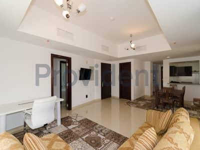 شقة 2 غرفة نوم للبيع في قرية جميرا الدائرية، دبي - Ready to Move in Exquisite 2 BR with Large Terrace