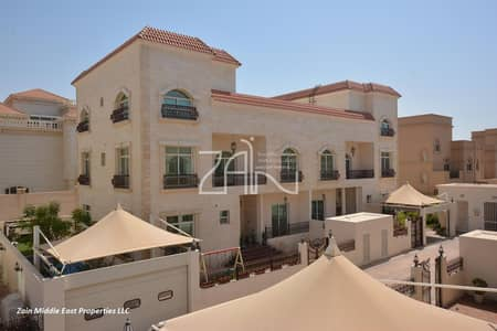 6 Bedroom Villa for Rent in Between Two Bridges (Bain Al Jessrain), Abu Dhabi - Spacious 6 BR Villa with Private pool and Garden