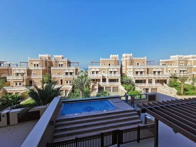 4 Bedroom Townhouse for Rent in Palm Jumeirah, Dubai - Luxury Unfurnished 4 bed Townhouse in Balqis Palm