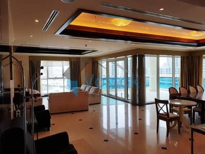 فلیٹ 3 غرف نوم للايجار في دبي مارينا، دبي - شقة في لا ريزيدنس ديل مار دبي مارينا 3 غرف 220000 درهم - 4434173