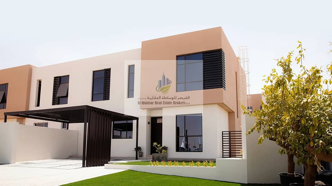 1 Pay 55k and Own cheapest villa in sharjah very near to Dubai without service charge all life time