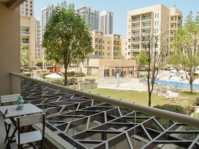 2 Bedroom Apartment for Rent in The Greens, Dubai - Exclusive Amazing Pool and Garden View | with Study
