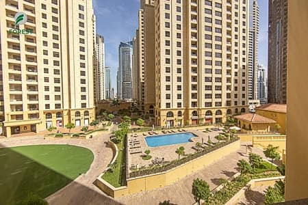 3 Bedroom Flat for Sale in Jumeirah Beach Residence (JBR), Dubai - Beautiful Layout 3 Bedroom Apartment Furnished