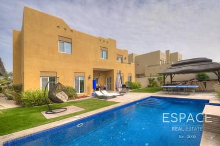 فیلا 4 غرف نوم للبيع في المرابع العربية، دبي - Private Pool | Single Row | Tenanted |