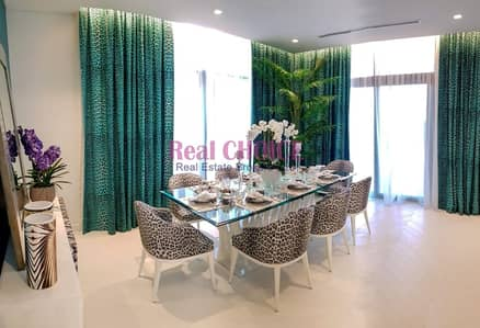 Fully Furnished 3 BR Villa by Just Cavalli with 2 years Post Payment Plan