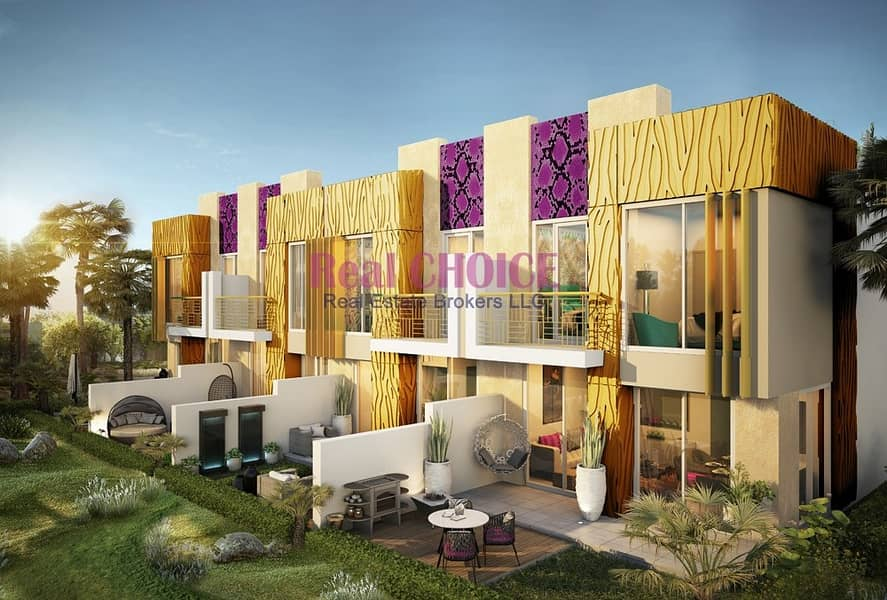 2 Fully Furnished 3 BR Villa by Just Cavalli with 2 years Post Payment Plan