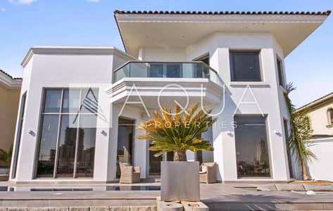 فیلا 5 غرف نوم للبيع في نخلة جميرا، دبي - High Number Fully Upgraded Garden Home For Sale