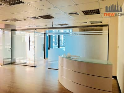 Office for Rent in Jumeirah Lake Towers (JLT), Dubai - Ready To Move in front of Metro Station Office for RENT In indigo Tower JLT