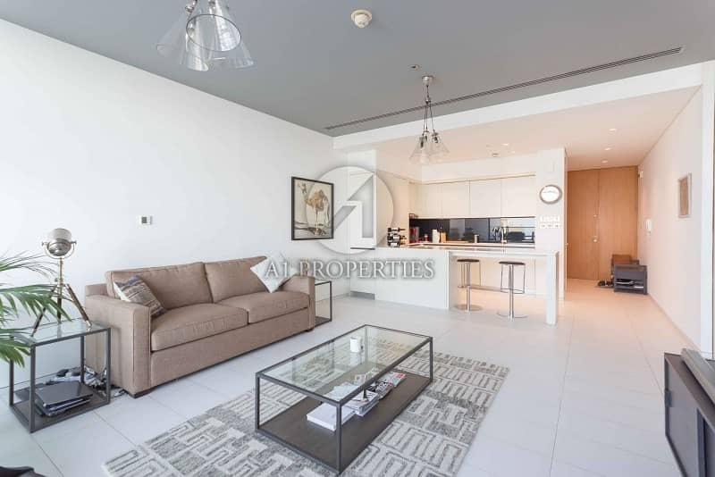 One Bedroom with Balcony in Index Tower