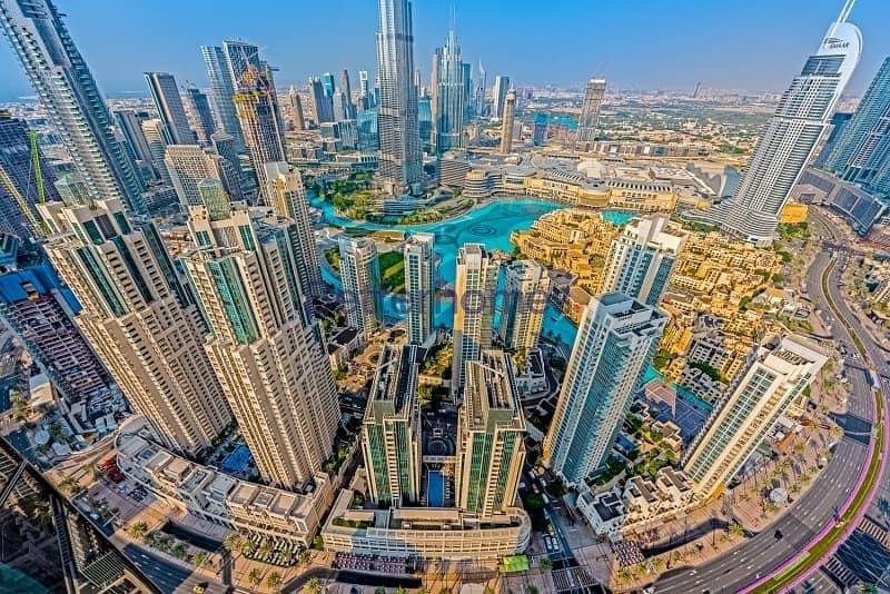 17 Penthouse|Burj Khalifa and Fountain Views