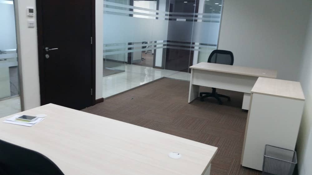 SERVICED OFFICE FOR RENT ON SHEIKH ZAYED ROAD