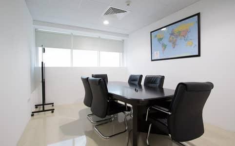 مکتب  للايجار في شارع الشيخ زايد، دبي - Office spaces in a Business Center   SZR
