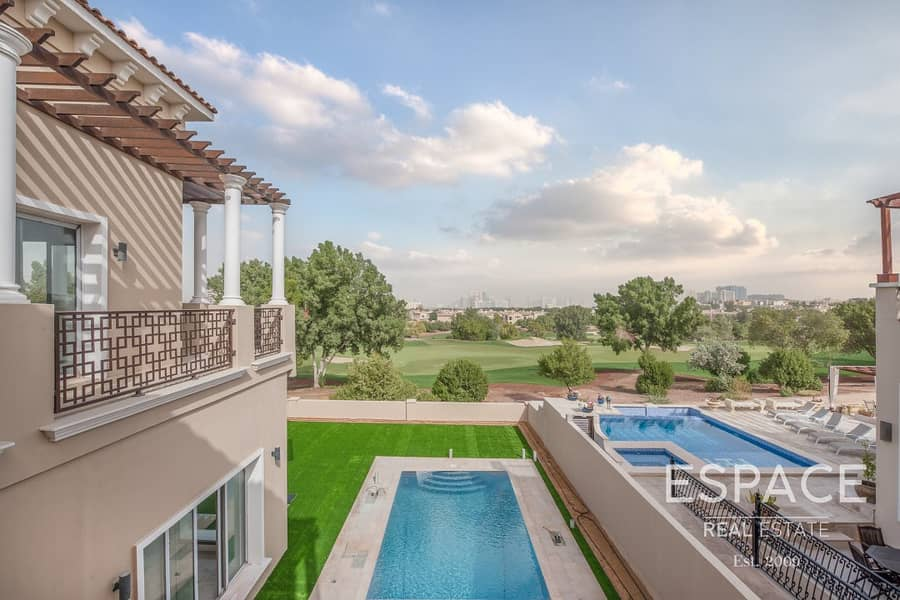 Stunning Golf Course View Brand New Mansion