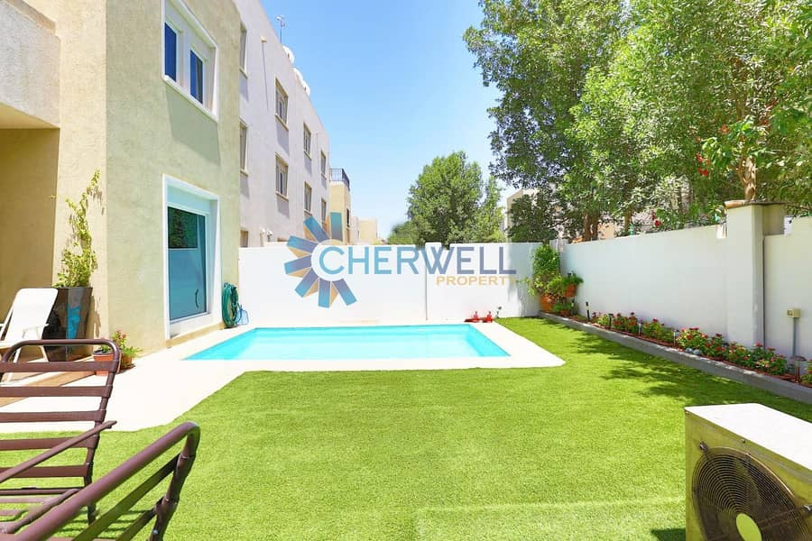 2 Great Price |Private Pool and Garden |Unique And Very Upscale 5BR+Maid
