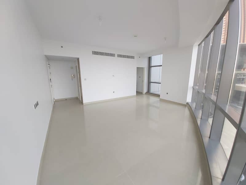 NO Fee!! Sea View 1 M/BR Facilities in Etihad Towers