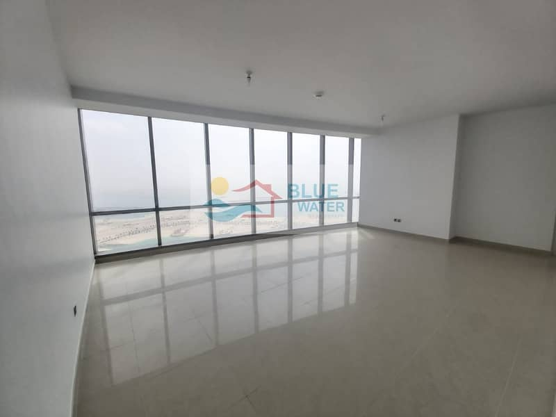 2 NO Fee!! Sea View 2 M/BR With facilities Etihad Towers