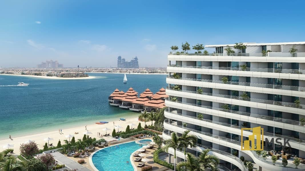 Remarkable Waterfront View | 1 Bed Apartment | Palm Jumeirah