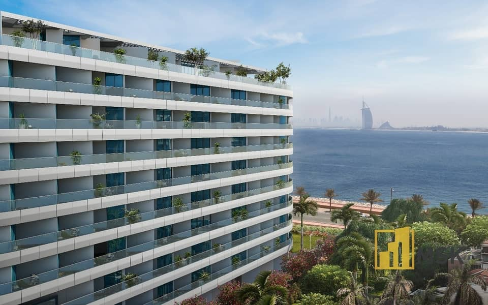 10 Remarkable Waterfront View | 1 Bed Apartment | Palm Jumeirah