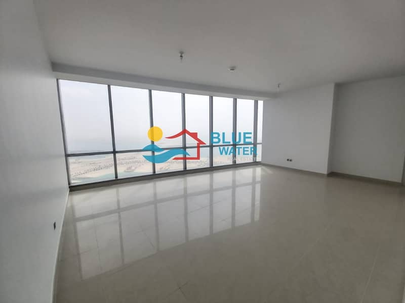NO Fee!! Sea View 2 M/BR With facilities Etihad Towers
