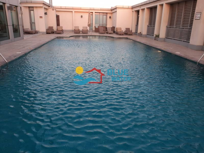 14 No Commission 2 M/BR With Pool Gym Balcony Parking