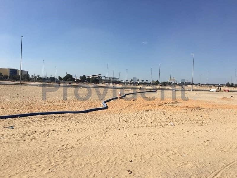 Great Location G+4 Corner Plot Al Warsan