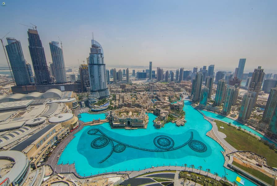 2 Furnished 2BR with Full Fountain View Burj Khalifa