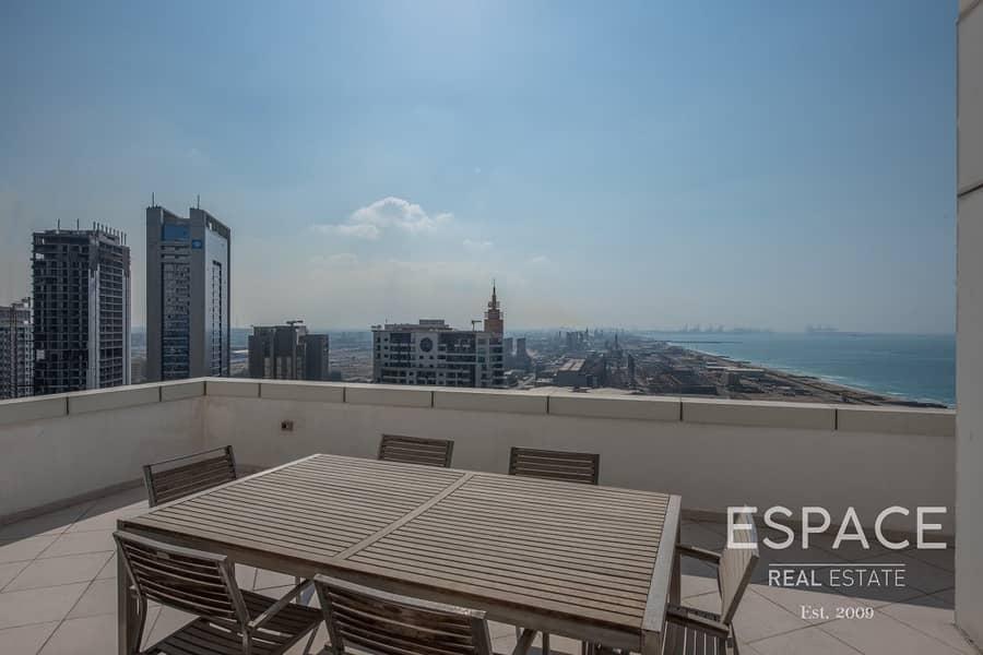 Penthouse | Stunning Marina View | 3 Bedrooms