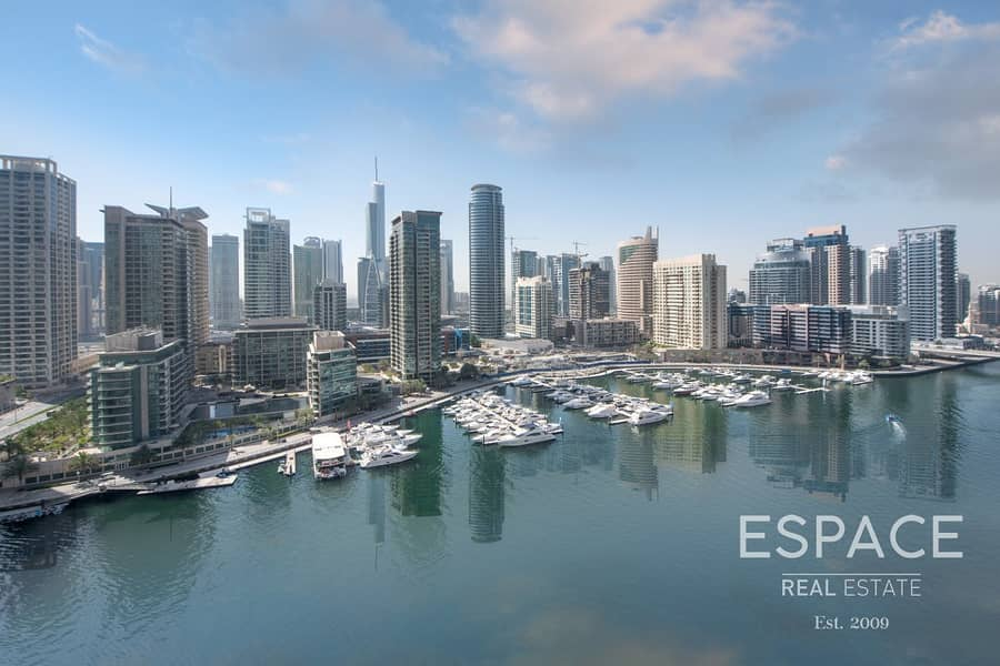 Vacant | 3 Bedroom | Full Marina View