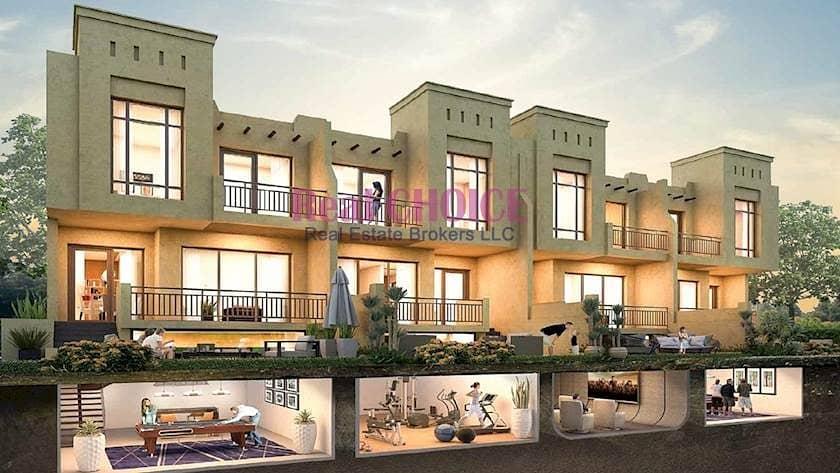 2 3 Bedroom Bait Al Aseel Villas by Damac