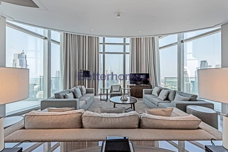 Penthouse|Burj Khalifa and Fountain Views