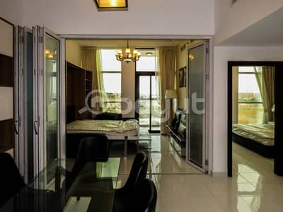 1 Bedroom Flat for Rent in Al Furjan, Dubai - Fully Furnished Brand New 1 BHK In Al Furjan