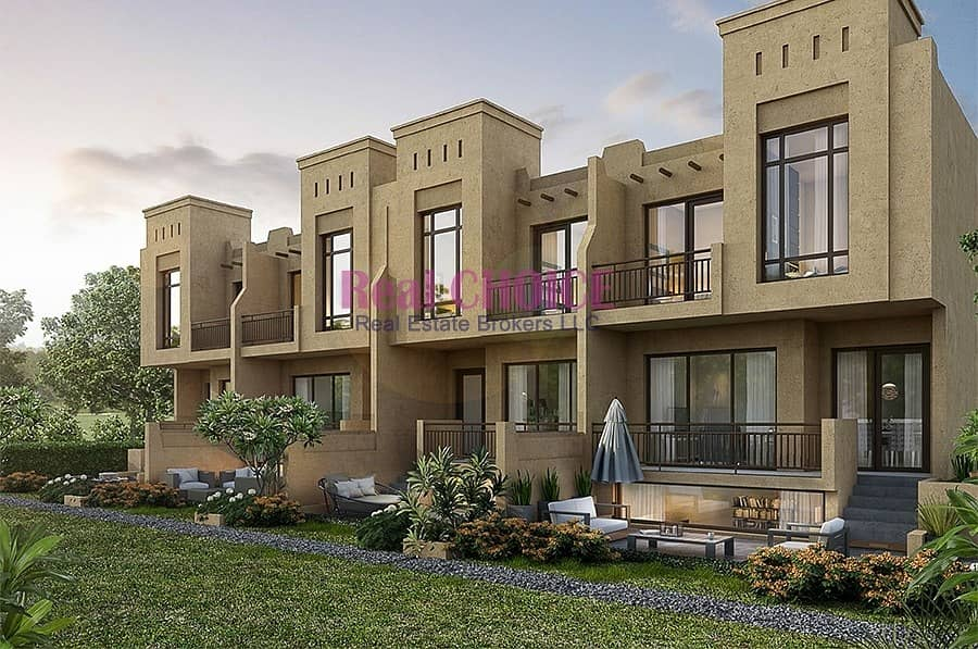 10 Stylish 3 Bedroom Villa with Basement in Akoya Oxygen