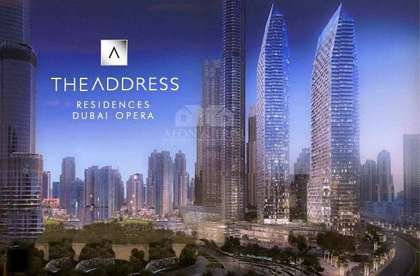 2 Burj Khalifa and Fountain View with 2 Bedrooms