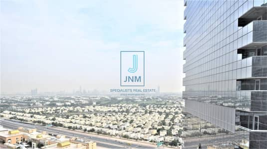 Office for Rent in Jumeirah Lake Towers (JLT), Dubai - High Floor | Fitted Office with Partitioned| Lake View