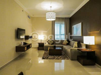 2 Bedroom Hotel Apartment for Rent in Al Nahda, Dubai - ALL INCLUDED -DEWA+WIFI+CAR PARK+CLEANING + POOL ACCESS + GYM + ONE MONTH FREE