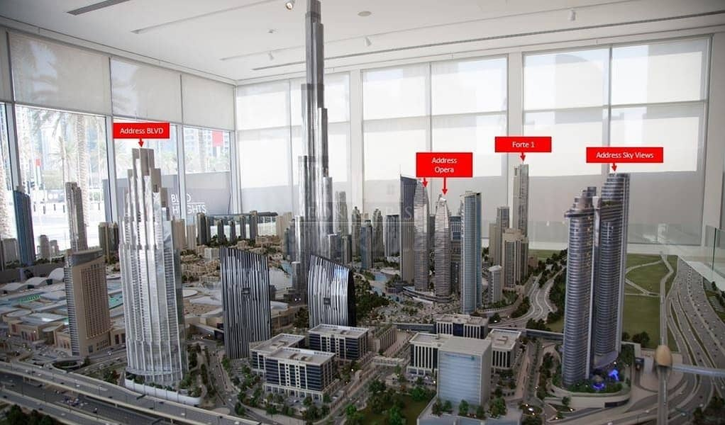 2 Dream Home in the City with 2 Bedrooms by Emaar