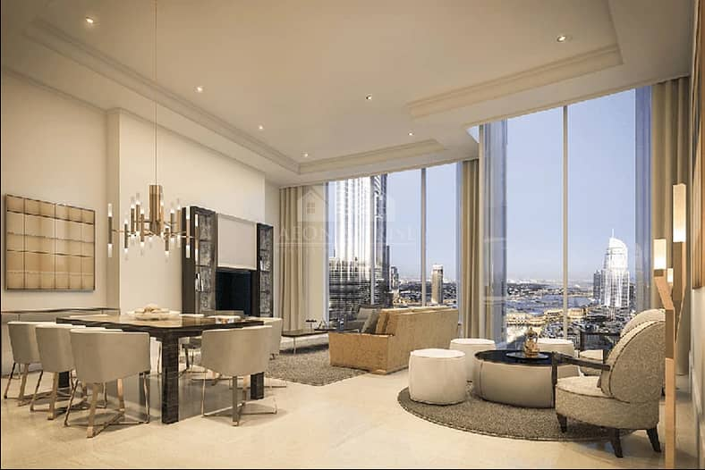 Dream Home in the City with 2 Bedrooms by Emaar