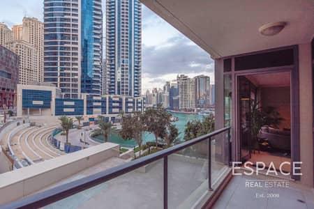 شقة 2 غرفة نوم للبيع في دبي مارينا، دبي - Marina View | VOT | Upgraded